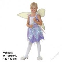 Dětský karnevalový kostým Víla ZVONIČKA 120-130cm ( 5 - 9 let )